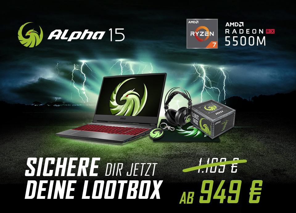 Erster Gaming-Laptop mit 7-nm-Grafik-Technologie